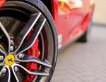 ferrari car wheel drive